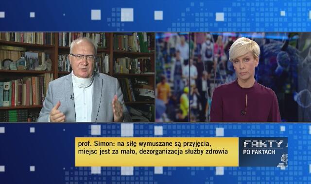 Profesor Krzysztof Simon o obecnej sytuacji epidemiologicznej
