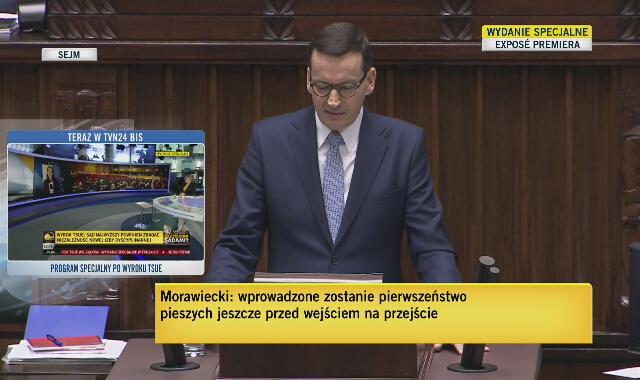 Mateusz Morawiecki o niemieckim Federalnym Trybunale Konstytucyjnym