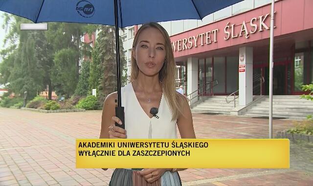 Akademik Uniwersytetu Śląskiego tylko dla zaszczepionych
