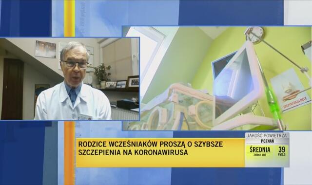 Doktor Wojciech Puzyna: bardzo popieramy pomysł dołączenia rodziców wcześniaków do grupy zero