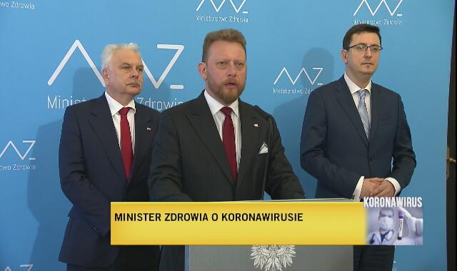 Szumowski: mamy pierwszy potwierdzony przypadek koronawirusa w Polsce