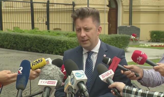 Michał Dworczyk o likwidacji awarii ściekowej w Warszawie