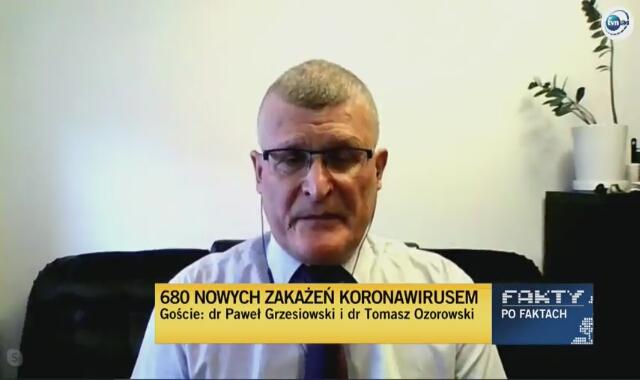 Dr Grzesiowski: powinno się wykonywać 100 tysięcy testów dziennie do końca roku