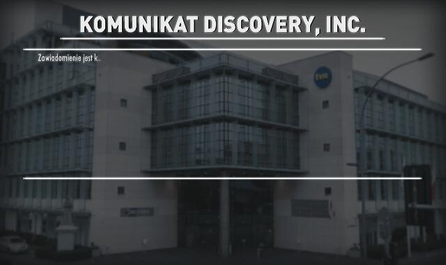 Komunikat Discovery, Inc.