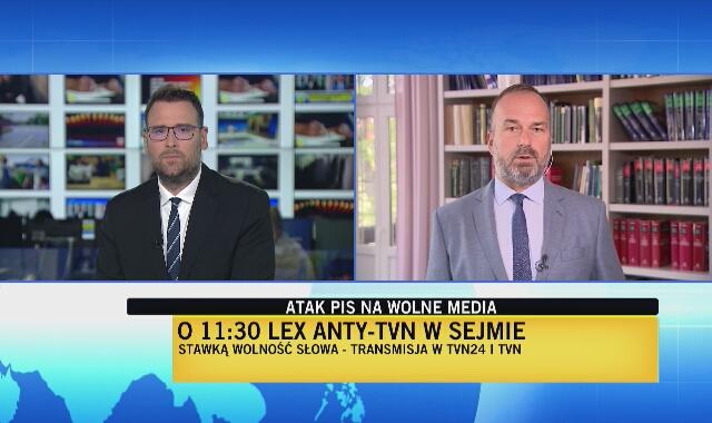 Prof. Maciej Gutowski o sprawie lex anty-TVN i koncesji dla TVN24