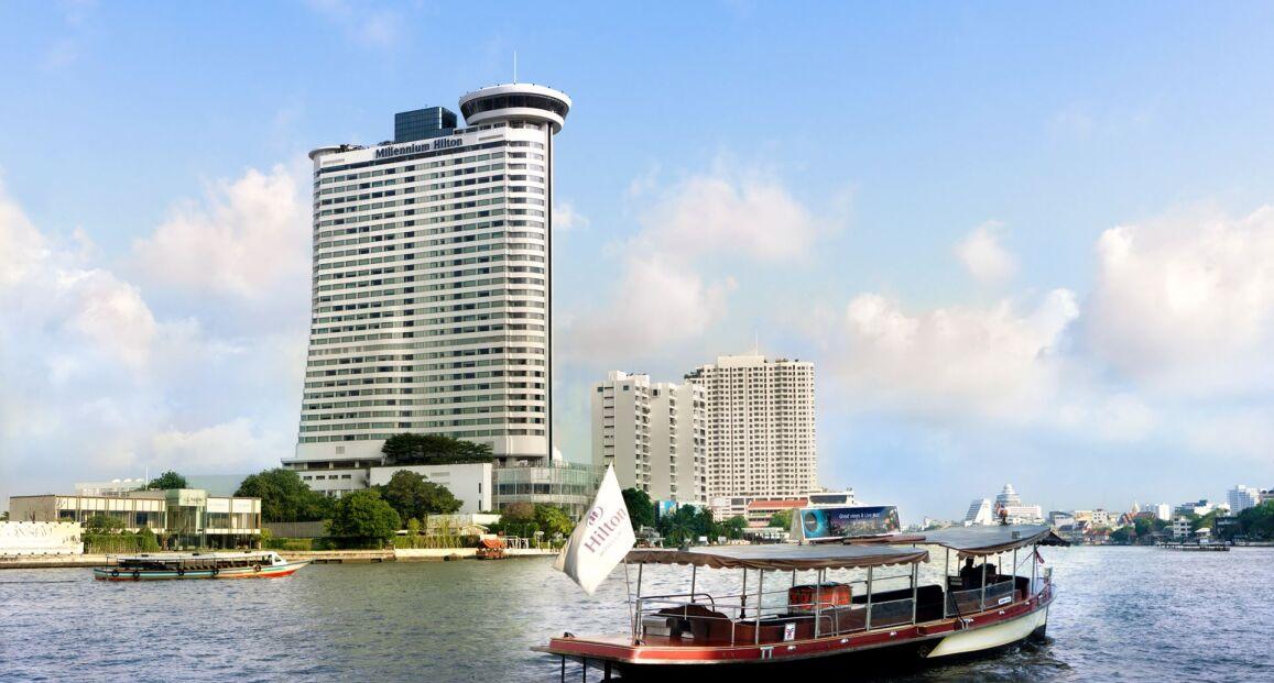 Millennium Hilton Bangkok Bangkok Tajlandia Opis
