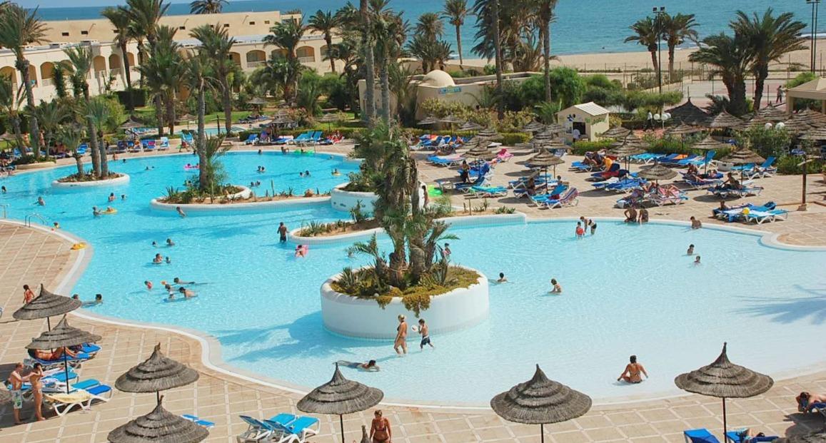 Zephir spa wyspa djerba tunezja opis hotelu opinie for Hotel zephir spa djerba promovacances