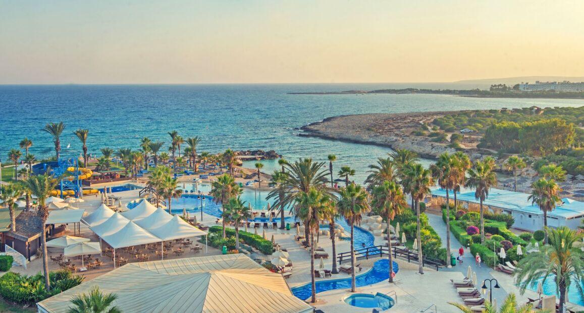 Adams Beach Hotel Larnaka Cypr