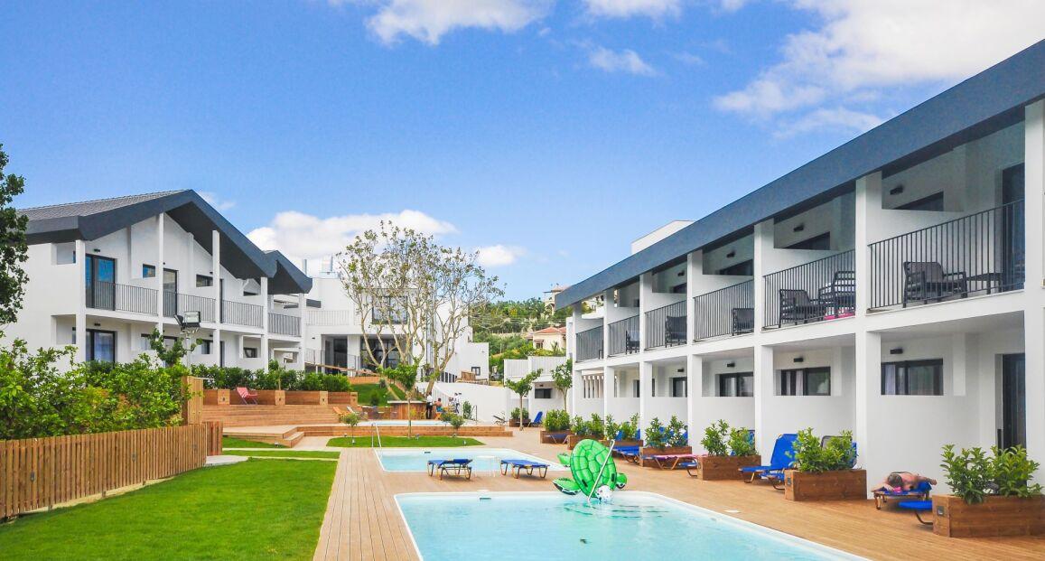 Splashworld Aqua Bay Zakynthos Grecja Opis Hotelu